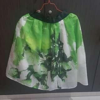 Rok kembang hijau