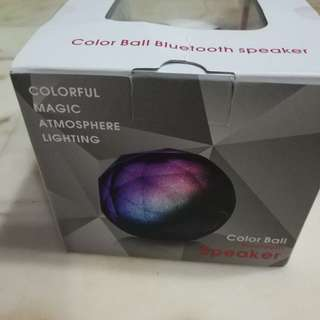 Colourful Magic Atmosphere Bluetooth speaker with remote control