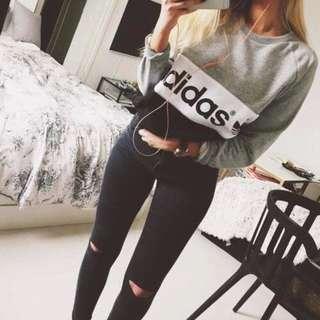 adidas pullover ✨