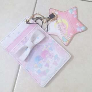 Sanrio little twin star lanyard card holder