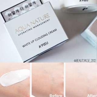 Apieu Aqua Nature White Up Clouding Cream
