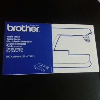 Brother sewing machine wide table WT7
