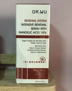 Dr.Wu Renewal System Intensive Renewal Serum  30ml