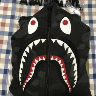 **LAST PRICE!!** Bape Dot Camo Shark Wide Full Zip Hoodie