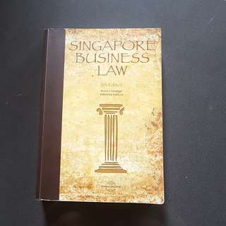 Singapore Business Law 5th Edition Book