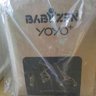 New Babyzen Yoyo+6 Stroller White frame Red