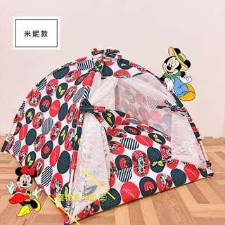 [2018新款]L號米妮/叮噹/奇奇蒂蒂 寵物帳篷/睡窩
