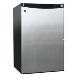 GE Stainless Steel Personal Refrigerator, Bar Fridge or Wine Chiller
