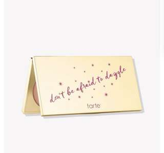 [⭐️0/80SGD] Tarte limited edition dont be afraid to dazzle contour highlight palette po