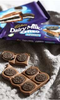 Cadbury Dairy Milk Oreo Sandwich Bar (92g) /Cadbury Dairy Milk Big Taste Oreo Crunch (300g)