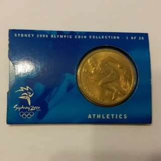 Sydney 2000 Olympic Coin Collection - 1 of 28 Athletics