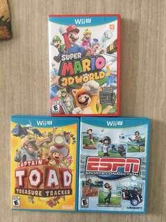3 Wii U Games