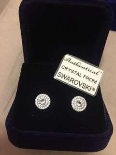 18k白金鍍金Swarovski 水晶頸鍊