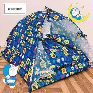 [2018新款]XL號 藍色叮噹 寵物帳篷/睡窩/寵物床