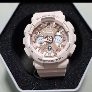 Brand New: G-shock GMA-120 Light Peach