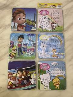 Puzzle- paw patrol goodies bag gift, goody bag packages for kids