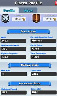 Level 10 Valkeryie Clash royale account Android