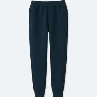 Uniqlo Boys Sweat Pants Size 140 Black