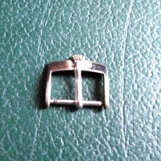 Vintage古董Rolex勞力士掃把頭銀色錶扣