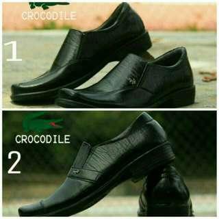 Sepatu pria | sepatu pantofel kulit sapi asli