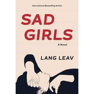 [Instock] Sad girls by Lang Leav