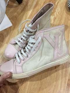 LV converse sneakers hi cut