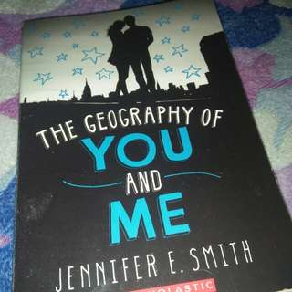 The Geography Of You And Me by Jennifer E. Smith
