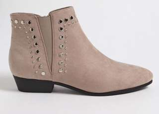 F21 Suede Ankle Boots