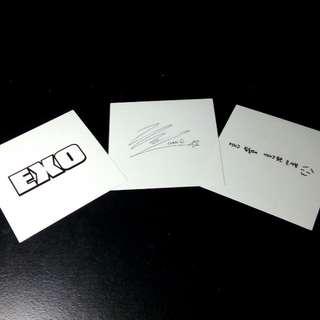 EXO官方貼紙~Chen~