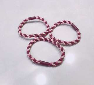 #6 Triple Braided Hair Tie