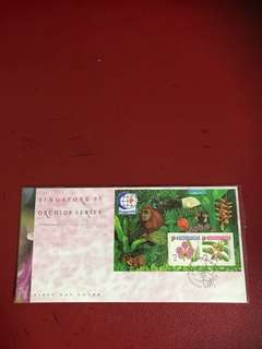 Singapore Miniature Sheet FDC As in Pictures