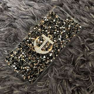 Authentic Claire's Japan Crystal Snap On Case for iPhone 7 plus