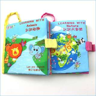Jolly Baby Cloth Book