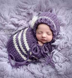嬰兒造型拍照套裝  初生滿月照服裝