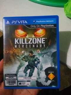 Ps Vita game Killzone Mercebary