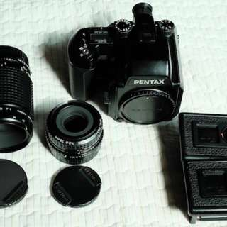 Pentax 645N +smc pentax-a  75/2.8(送fuji30週年即可拍一卷)