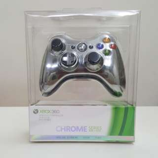 Xbox 360 wireless controller chrome series special edition