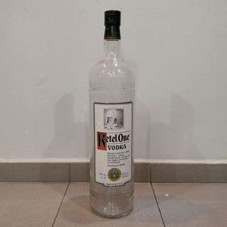 Special Edition KetelOne Vodka Bottle for Vodka collector's