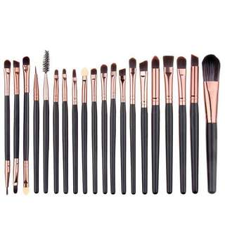 po makeup brushes set #2