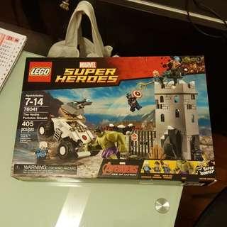 MISB Lego 76041 盒不是直角