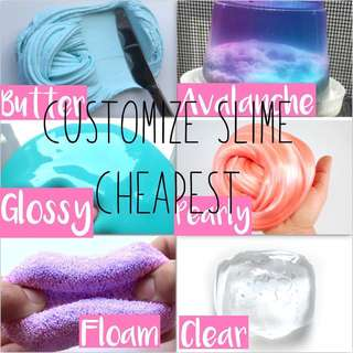 Customize SLIME CHEAP