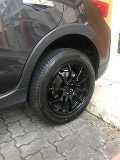 Subaru rims 18inch 5x100