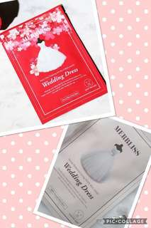 Merbliss Wedding Dress Facial Mask