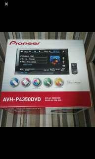 Pioneer DVD player AVH-P4350DVF