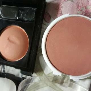 Blusher in glowy brown for sale :) take both for $4.00 for fast deal