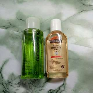 🆕Shu Uemura Cleansing Oil and palmers cocoa butter #Bajet20