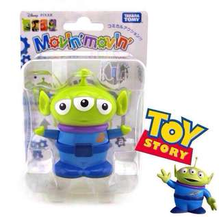 Disney Pixar wind-up toy - 3 eyes Alien