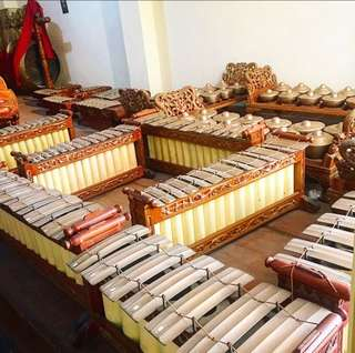 Jual gamelan 2 set exclusive