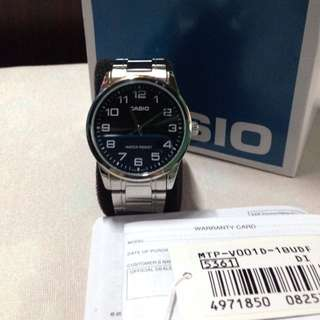Authentic Casio analog watch for men