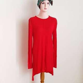 Autentik Zara red blouse